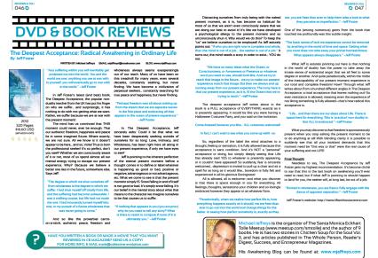 Michael Jeffreys review CE Magazine July 2013