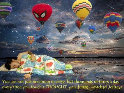 mj quote dream balloons