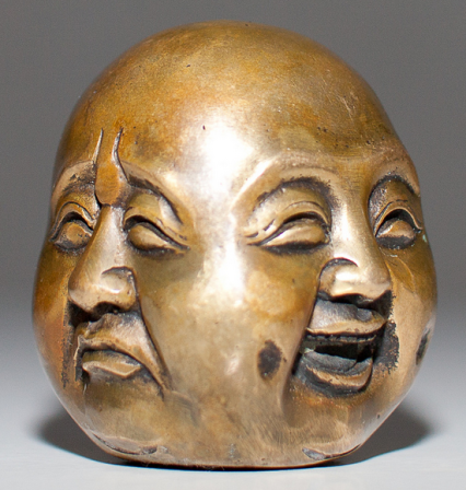 two faced buddha