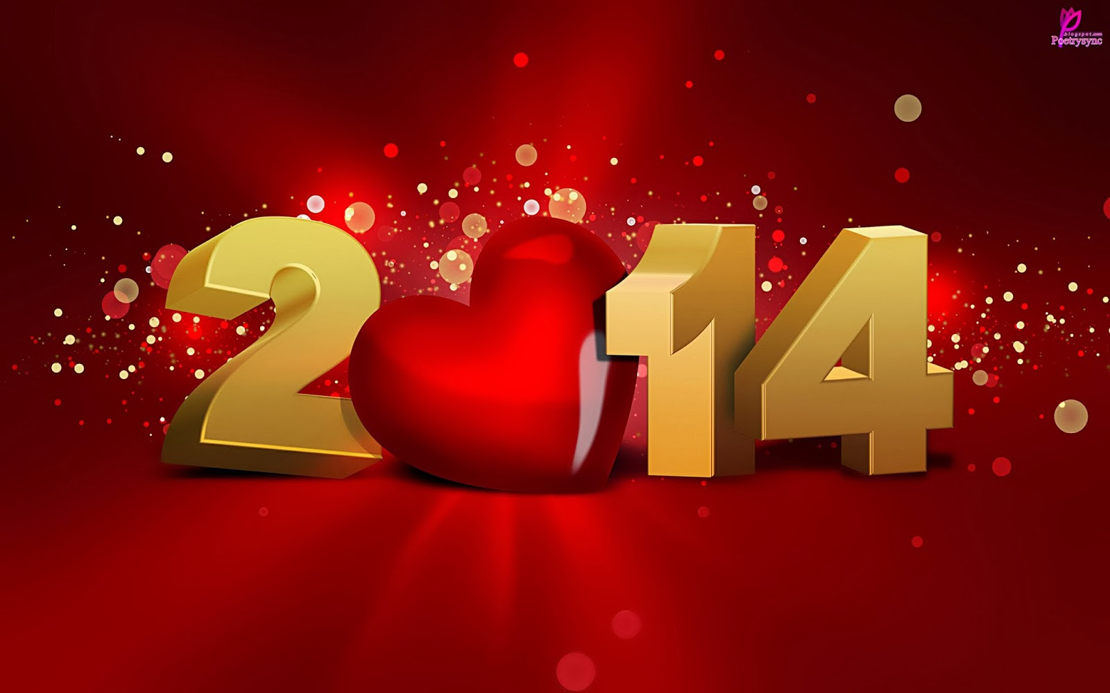 happy new year greetings 2014 hd wallpaper for