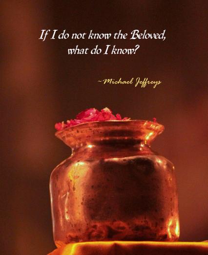 MJ Beloved copper vase pic quote
