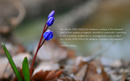 MJ can i be the open space purple flower pic quote