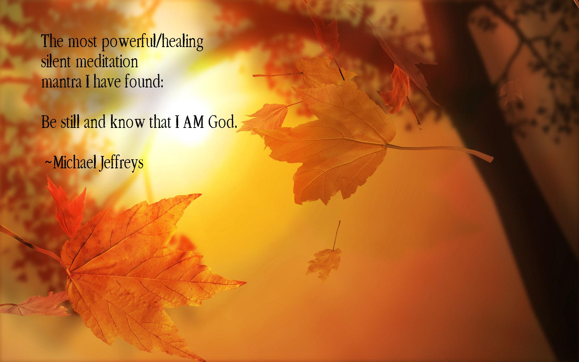 michaeljeffreys | Awakening to what you have always been ...