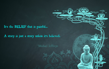 mj belief buddha pic quote