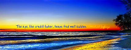 mj ego keeps god well hidden rainbow sunset pic quotecroppedtight