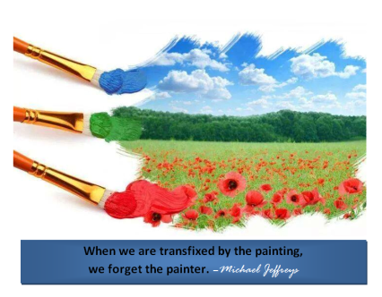mj when we forget the painter pic quote