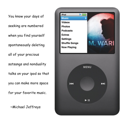 mj ipod satsang delete quote