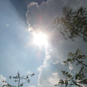 formless cloud & sun