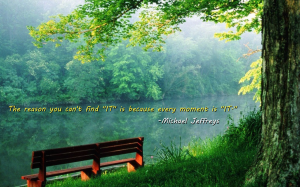 mj every moment is IT pic quote