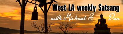 west LA satsang w mj & dl banner