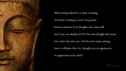 mj appearance to what buddha face pic quote