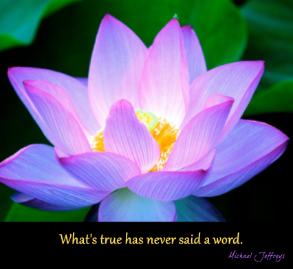 mj whats true has never said a word lotus pic quote