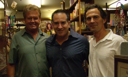 Jim, Michael, Rupert Bodhi Tree 9-6-11 cropped