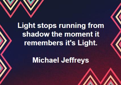 light remembering light