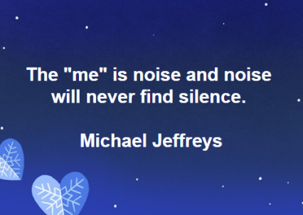 mj noise will never find silence pic quote