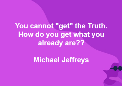 mj you cannot get the truth pic quote