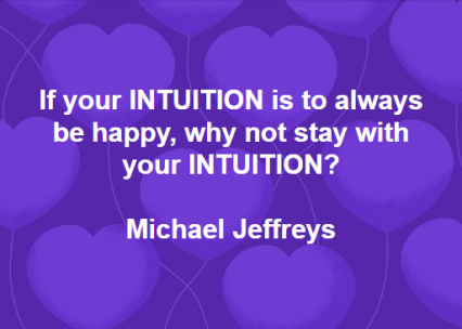 mj intuitive happiness pic quote