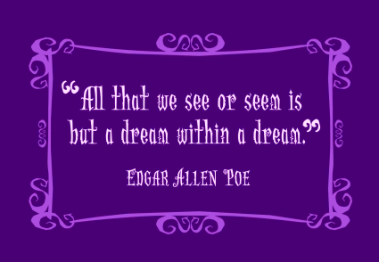 purple poe dream within a dream pic quote 2