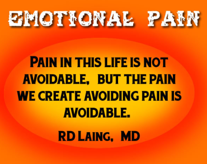 emotional pain not mandatory