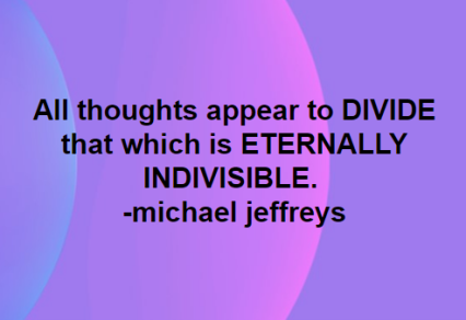 mj all thoughts appear to divide