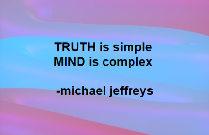 mj truth is simple