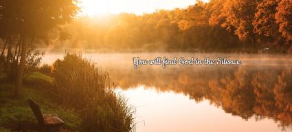 god in silence