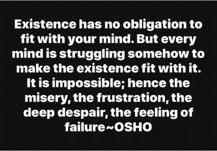 existence, mind OSHO