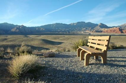 empty bench canyon