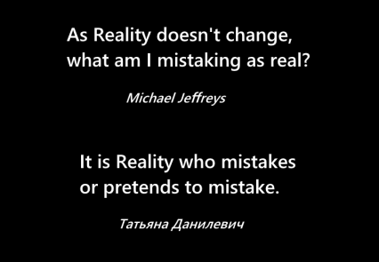 mj Reality doesn't change